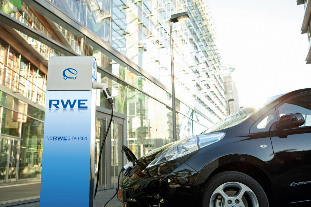 RWE ePower, RWE eStation smart, Ladestationen, E-Autos, © RWE AG (Homepage) (07.03.2014)