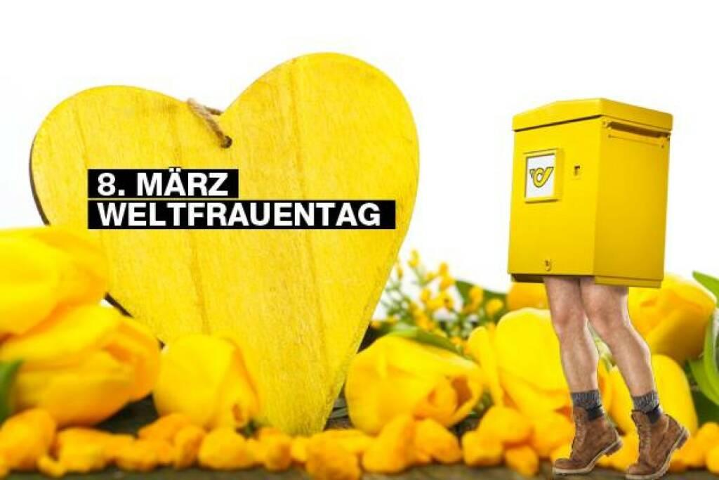 Post gratuliert Mitarbeiterinnen und Kundinnen zum Weltfrauentag 2014 (08.03.2014)