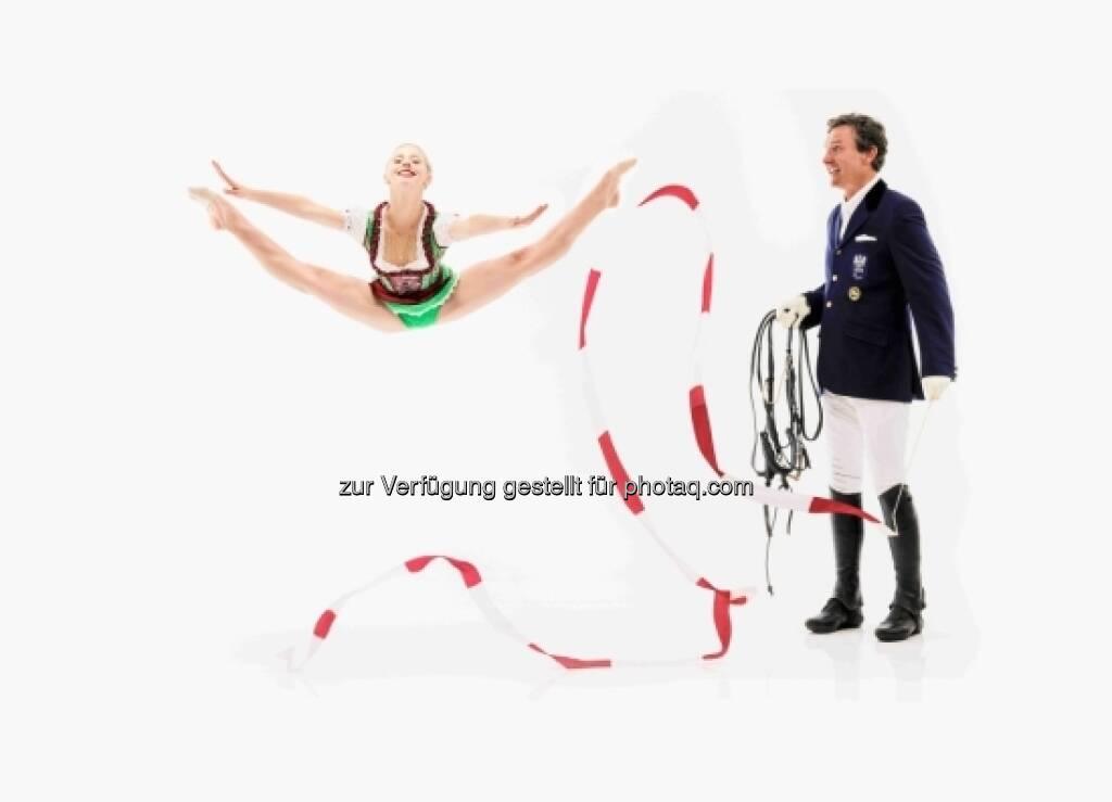 MAI: Pepo Puch und Caroline Weber, © Sporthilfe (15.12.2012)