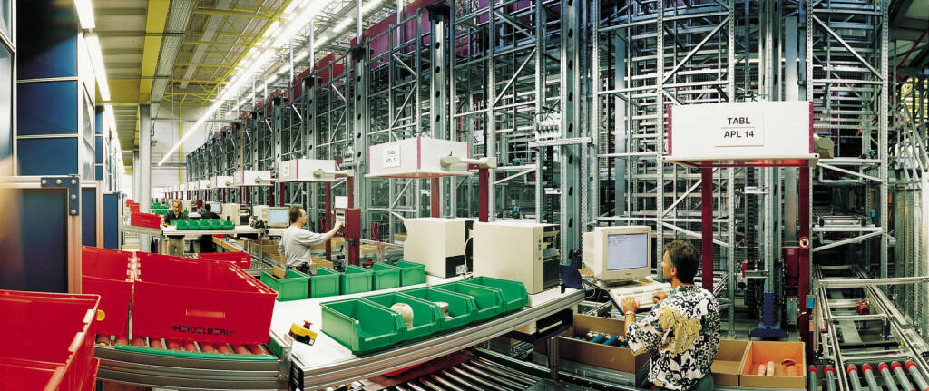 World Logistic Center, Heidelberger Druckmaschinen AG, © Heidelberger Druckmaschinen AG (Homepage) (12.03.2014)