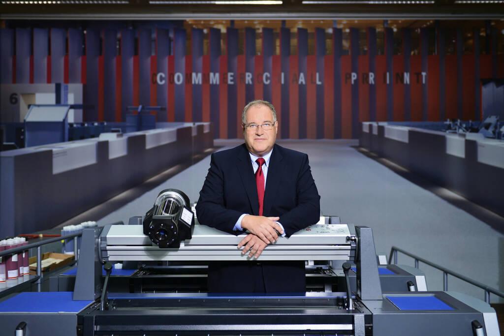Gerold Linzbach, Vorstandsvorsitzender der Heidelberger Druckmaschinen AG , © Heidelberger Druckmaschinen AG (Homepage) (12.03.2014)