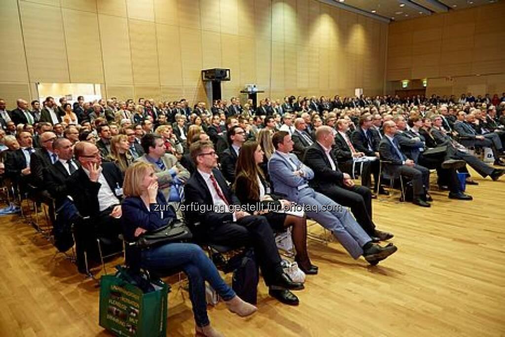 Fonds professionell Kongress 2014 Publikum (Bild: Günter Menzl) (13.03.2014)