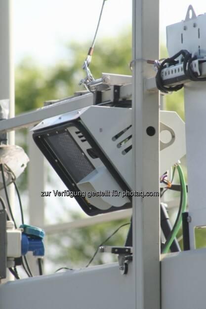 Asfinag rüstet mit Systemen zur automatischen Vignettenerkennung (AVK) nach - Systeme werden von Efkon AG geliefert (Bild: Efkon) (14.03.2014)