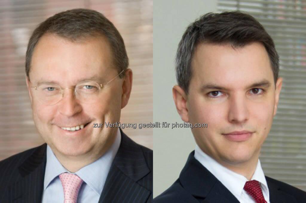 Michael Kutschera und Markus Uitz (beide Binder Grösswang Rechtsanwälte) beraten die niederländische Koninklijke Ahold NV beim Erwerb von rund 50 Spar- und Interspar-Standorten in der Tschechischen Republik (Bild: Binder Grösswang) (14.03.2014)