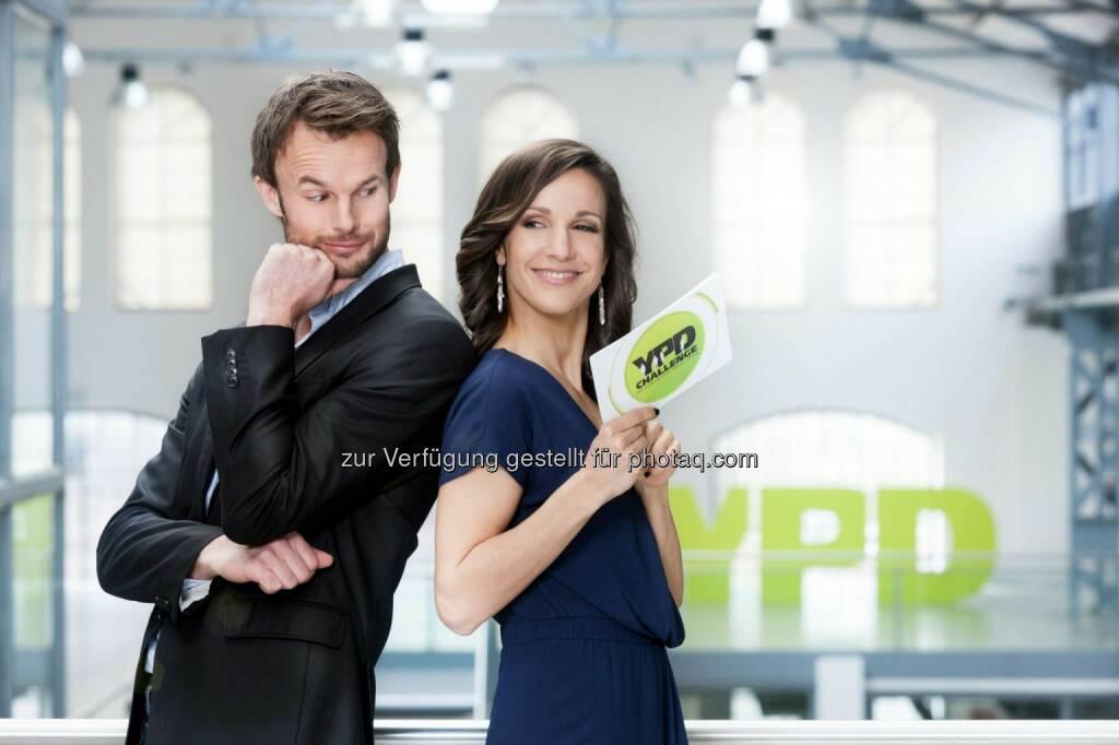 YPD-Challenge Servus TV: Durch die TV-Shows begleitet das Moderatoren-Duo Barbara Fleißner und Florian Rudig © Gerry Frank Photography 2014 (15.03.2014)