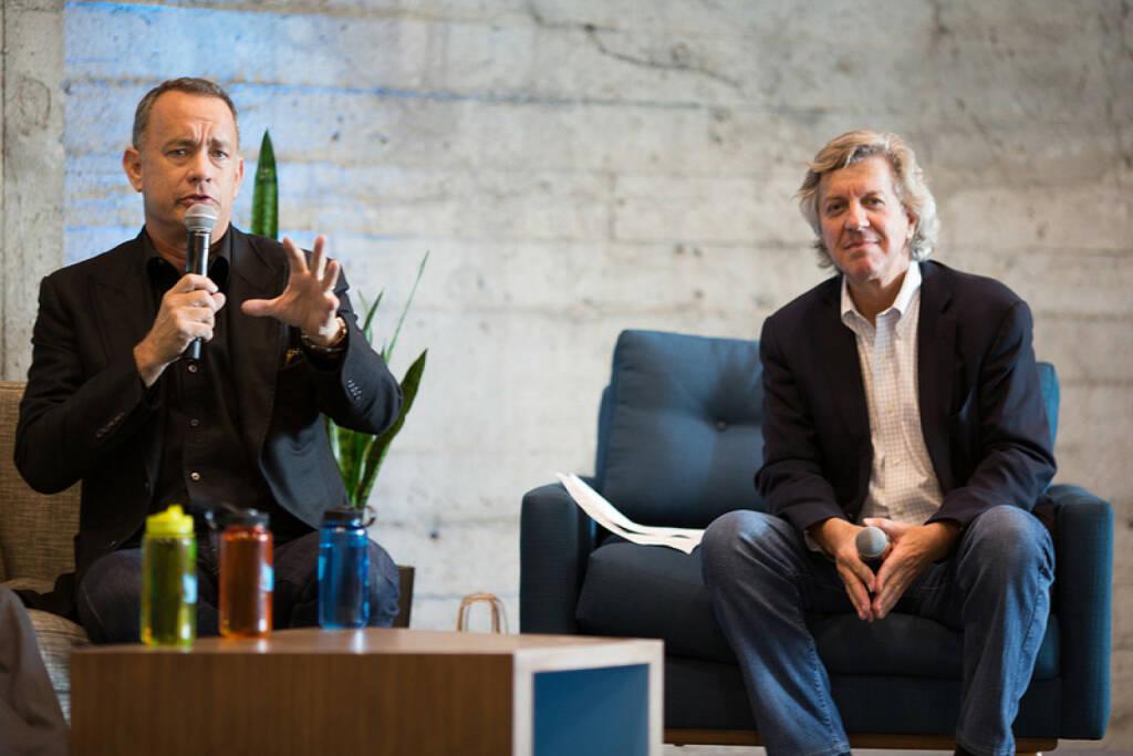 Tom Hanks at Twitter HQ, (C) Charles Wood for Twitter, Inc., © Twitter Inc.  (15.03.2014)