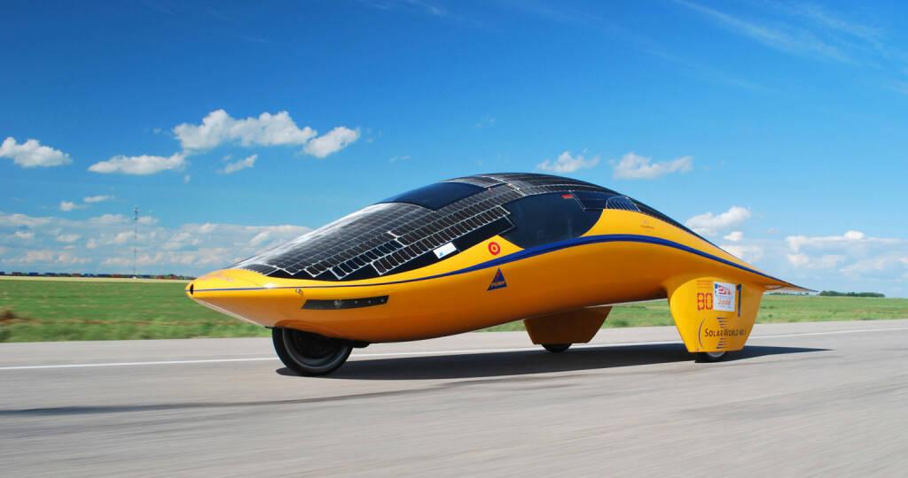 Solarrennwagen SolarWorld No.1 startet in Australien, © SolarWorld AG (Homepage) (16.03.2014)