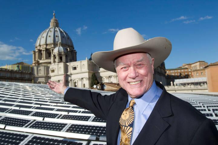 Larry Hagman wirbt für SolarWorld AG