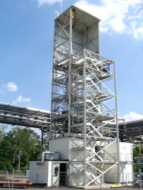 Free-Space Reaktor (FSR) zur Abscheidung von Silizium aus dem Gas Silan, SolarWorld AG, © SolarWorld AG (Homepage) (16.03.2014)