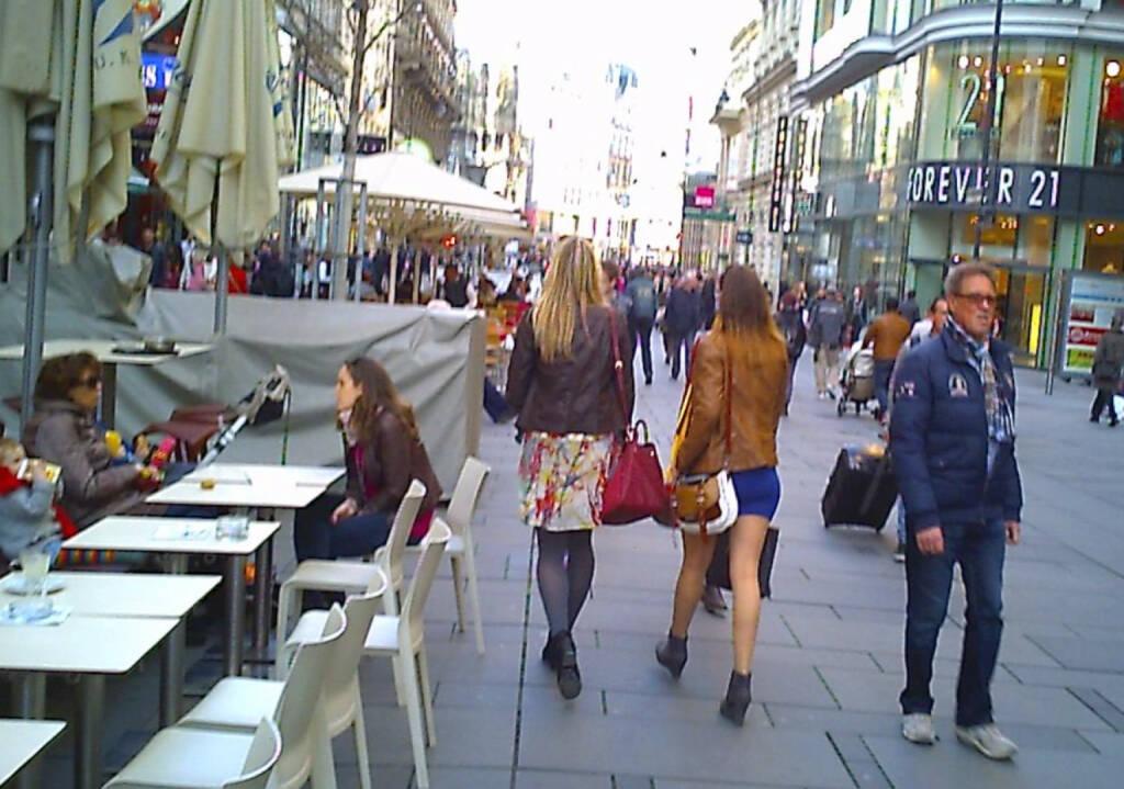 Kärnter Strasse Wien, Fussgängerzone (17.03.2014)
