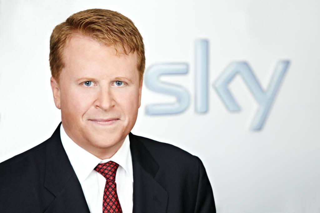 Brian Sullivan, Vorstandsvorsitzender Sky Deutschland AG , © Sky Deutschland AG (Homepage) (17.03.2014)