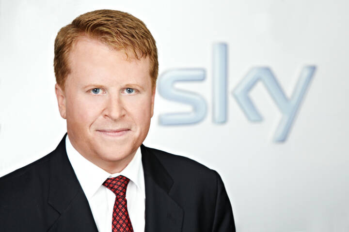 Brian Sullivan, Vorstandsvorsitzender Sky Deutschland AG