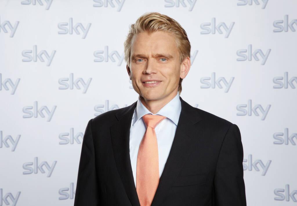 Holger Enßlin, Vorstand Legal, Regulatory & Distribution, Sky Deutschland AG, © Sky Deutschland AG (Homepage) (17.03.2014)