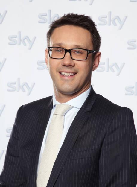 Steven Tomsic, Vorstand Finanzen, Sky Deutschland AG, © Sky Deutschland AG (Homepage) (17.03.2014)