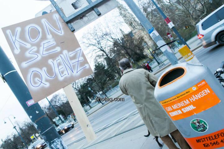 Konsequenz - Hypo Demonstration in Wien am 18.03.2014