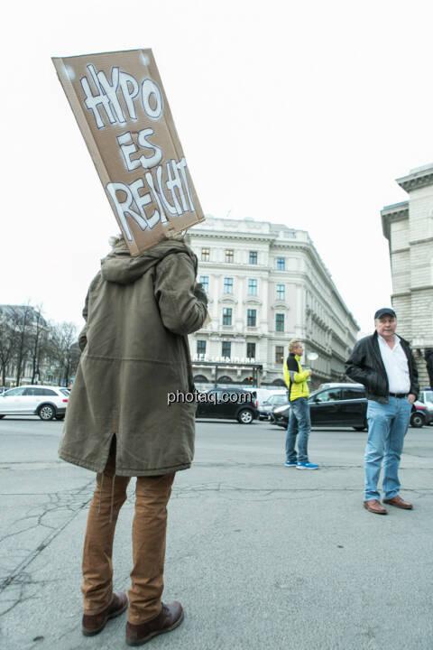 Hypo es reicht- Hypo Demonstration in Wien am 18.03.2014