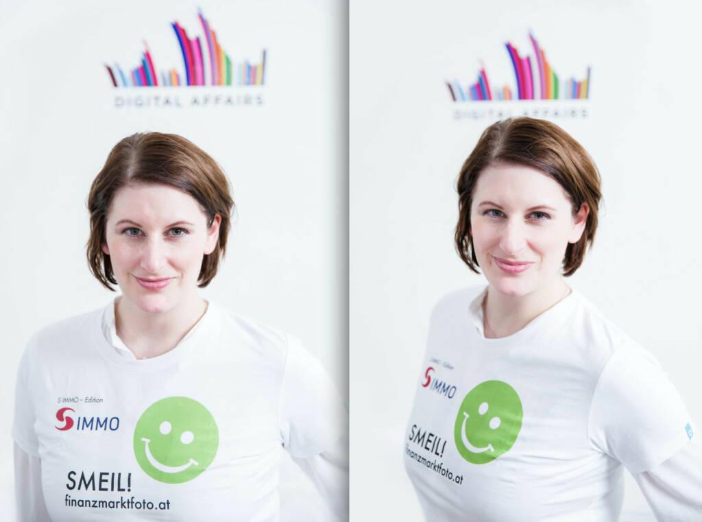 Digital Affairs Smeil for Fotographer Tony Gigov: Judith Denkmayr (Shirt in der S Immo-Edition) (20.03.2014)