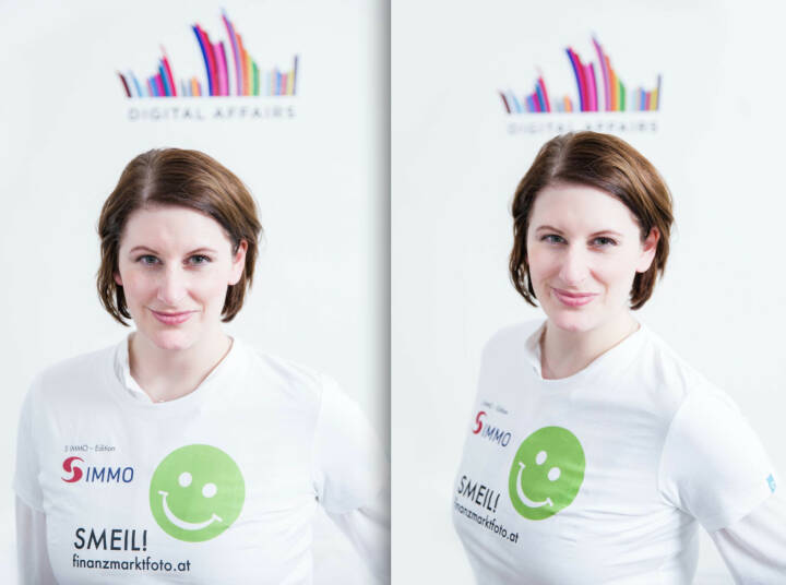 Digital Affairs Smeil for Fotographer Tony Gigov: Judith Denkmayr (Shirt in der S Immo-Edition)
