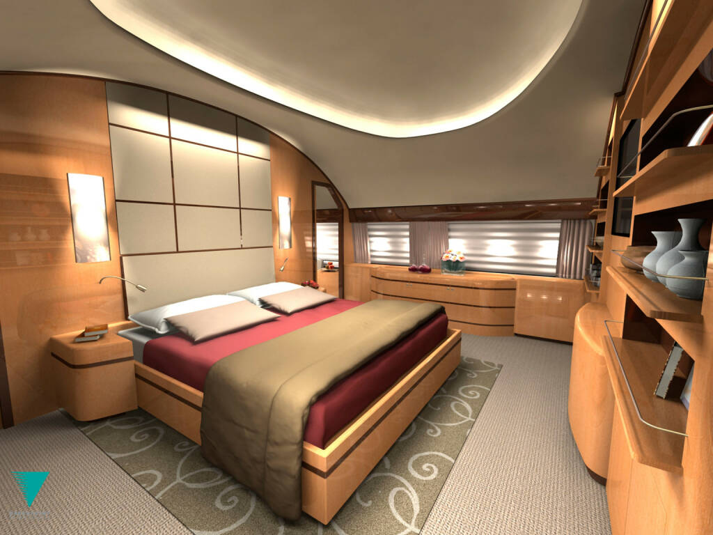 Boeing 787 VIP Interior, Boeing Company, © Boeing Company (Homepage) (20.03.2014)
