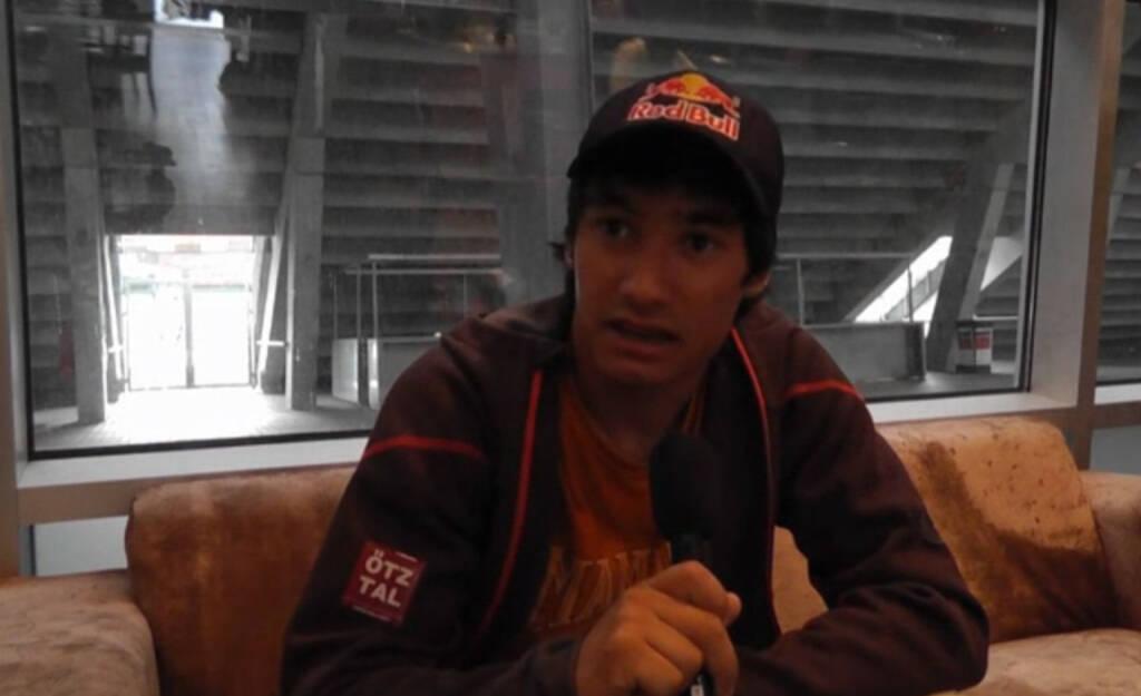 David Lama: Kletterer und Alpinist: David Lama würde sich nur einen Ratschlag mit auf den Weg geben, nämlich, dass man seinen Traum leben, und seine Ziele verwirklichen soll! Das Video (5:20min.) dazu unter: http://www.whatchado.com/de/david-lama, © whatchado (23.03.2014)
