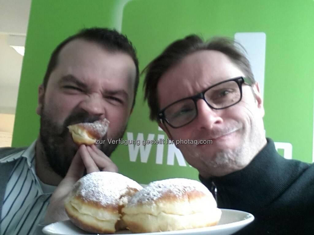 wikifolio Krapfen: Stefan Greunz, Andreas Kern (23.03.2014)