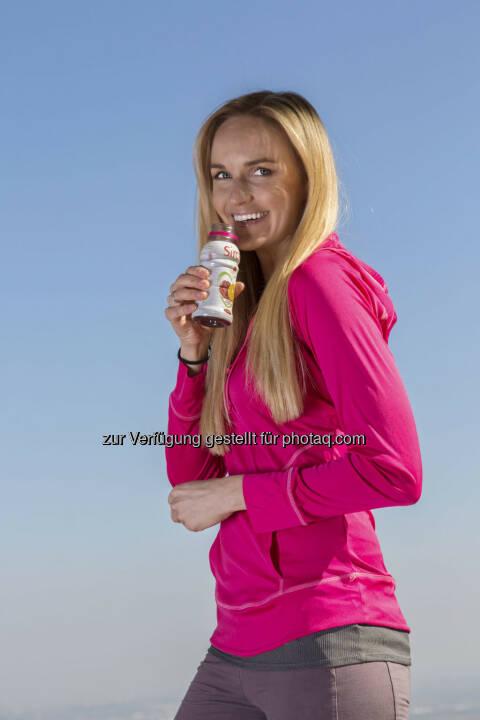 Sirco ist das erste Getränk in Österreich, welches das bioaktive Tomaten-Extrakt fruitflow® enthält. Als Markenbotschafterin fungiert Ex-Miss Austria Patricia Kaiser (c) Sirco