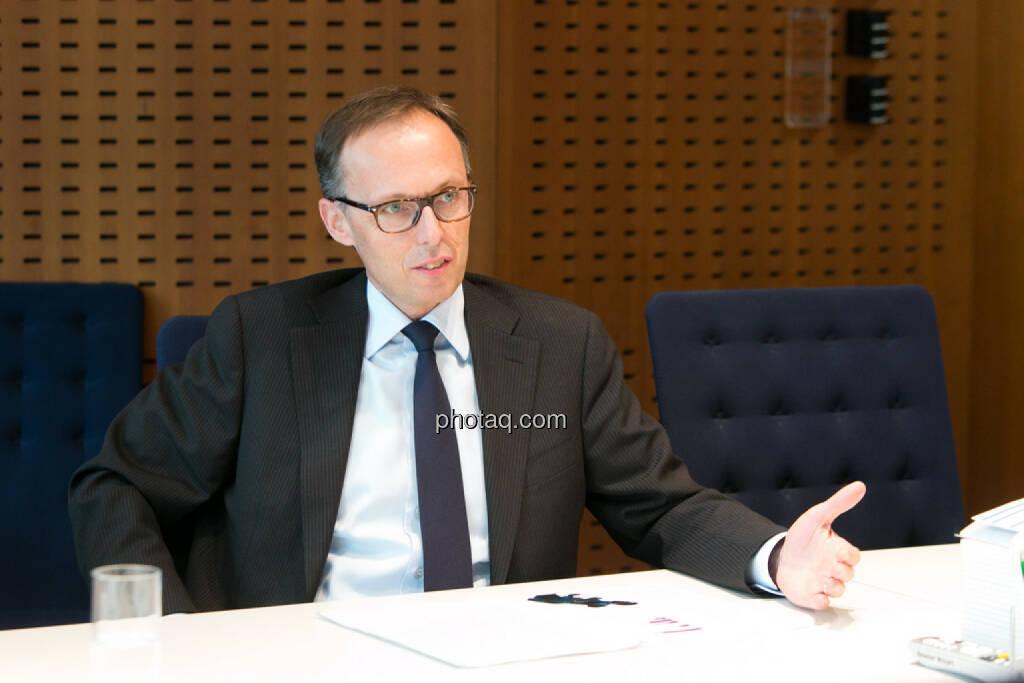 Klaus Malle, Accenture, © finanzmarktfoto.at/Martina Draper (24.03.2014)
