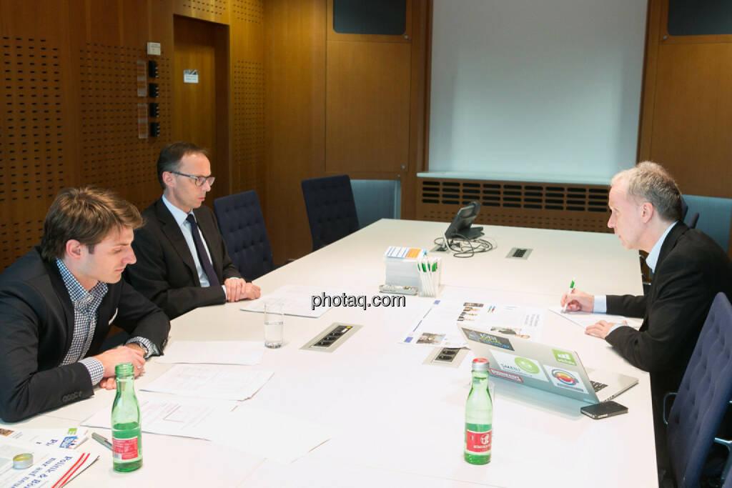 Peter Auer, Accenture, Klaus Malle, Accenture, Christian Drastil, © finanzmarktfoto.at/Martina Draper (24.03.2014)