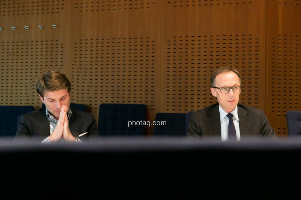 Peter Auer, Accenture, Klaus Malle, Accenture, © finanzmarktfoto.at/Martina Draper (24.03.2014)