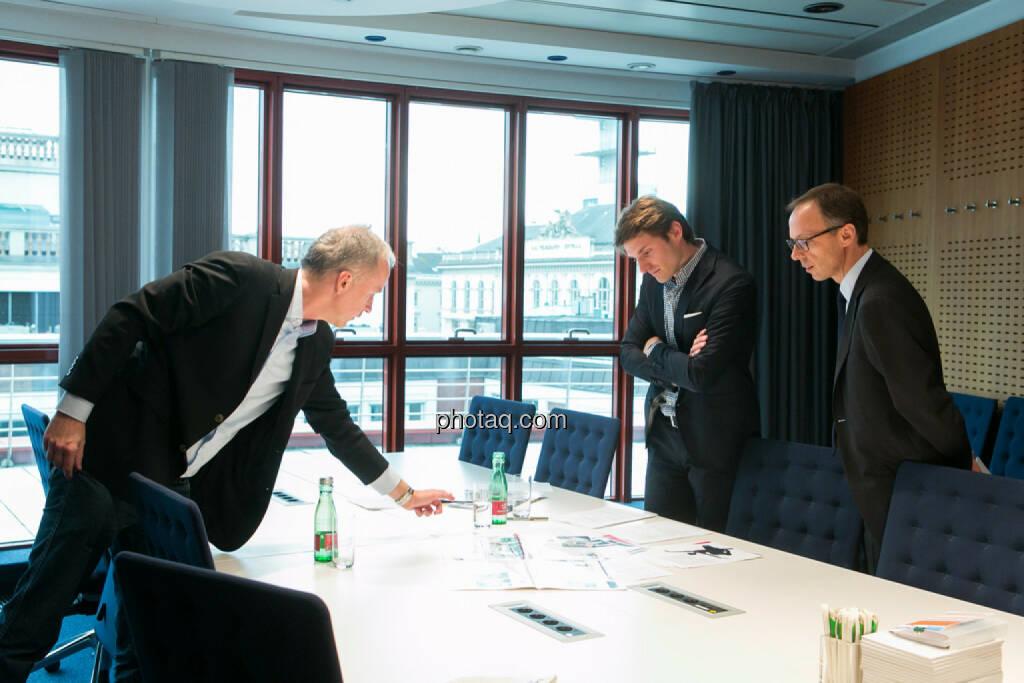 Christian Drastil, Peter Auer, Accenture, Klaus Malle, Accenture, © finanzmarktfoto.at/Martina Draper (24.03.2014)
