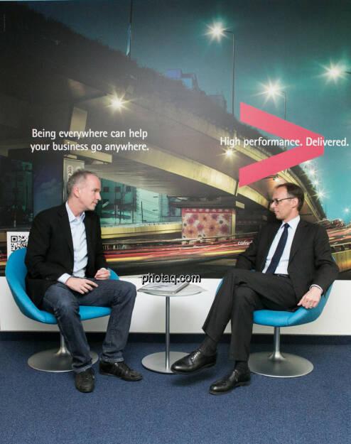 Christian Drastil, Klaus Malle, Accenture , © finanzmarktfoto.at/Martina Draper (24.03.2014)