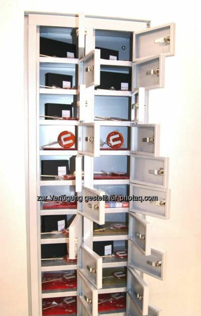 The lock boxes contained different surprises e.g. gift certificates for backstage tours of the German Formula 1 race track Nürburgring, golf trial sessions and canoeing tours., © update (25.03.2014)