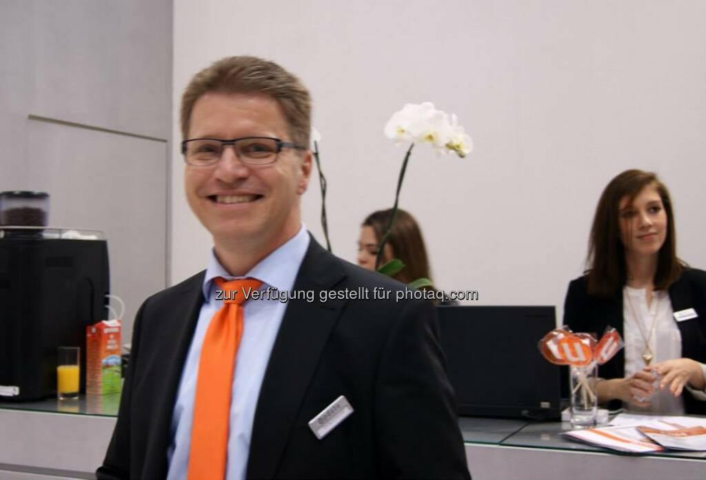 CeBIT 2014 Georg Schrennen, VP Business Solutions update software AG (Bild: update.CRM), © update (25.03.2014)
