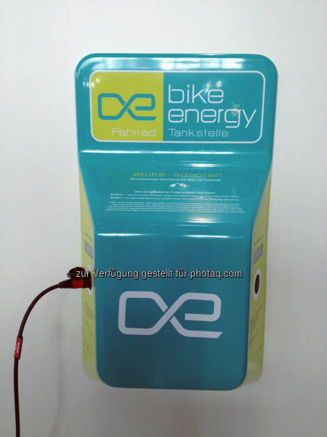 bike_energy Ladestation , © bike_energy (26.03.2014)