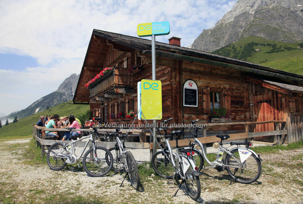 Ladestation Almhütte, © bike_energy (26.03.2014)