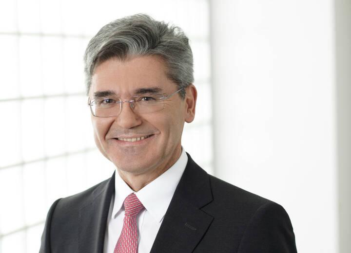 Joe Kaeser, Vorsitzender des Vorstands der Siemens AG
