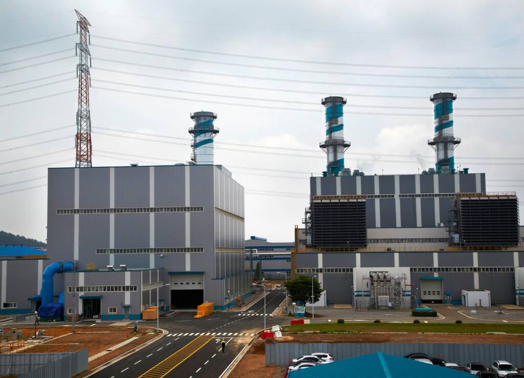 GuD-Kraftwerk Dangjin 3 in Südkorea, Siemens AG, © Siemens AG (Homepage) (28.03.2014)