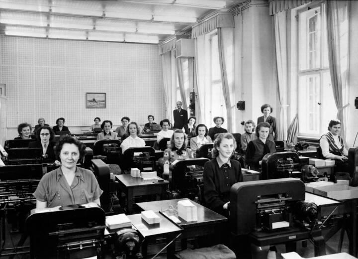 Lohnabrechnung Hauptverwaltung Berlin Siemensstadt, 1952
