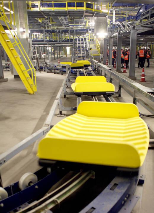 Siemens Gepaeckfoerderanlage am Peking International Airport