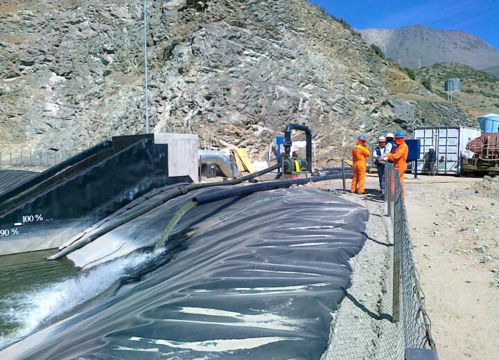 Nanofiltration für Wasseraufbereitung im Tagebau, Siemens AG