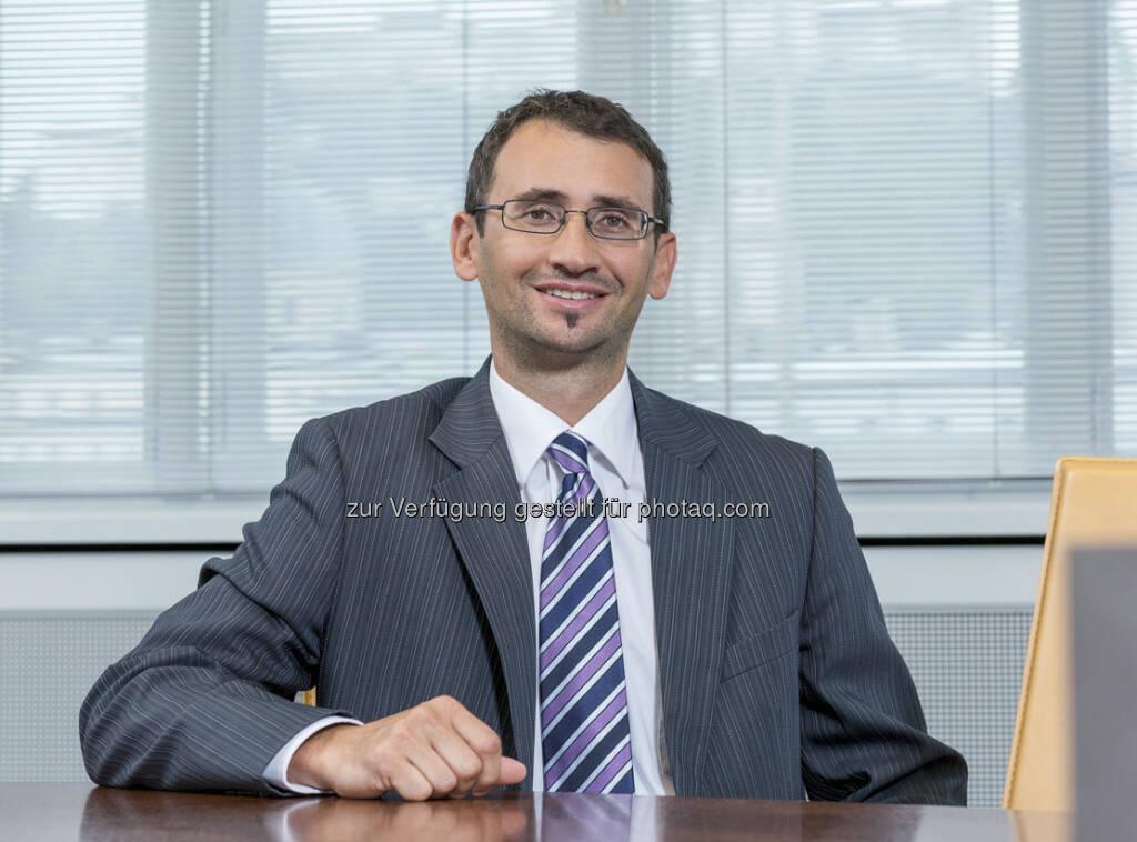 René Sprung (37): Neuer Berater für Unternehmenskunden im Bankhaus Spängler (c) Spängler  (15.12.2012)