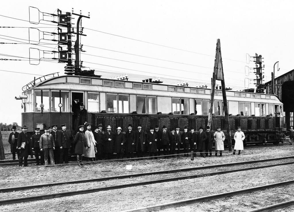 Hochgeschwindigkeitszug (1903), Siemens AG, © Siemens AG (Homepage) (28.03.2014)