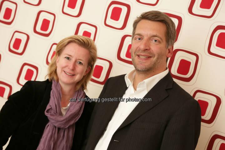 Birgit Kraft-Kinz (Geschäftsführerin Kraftkinz), Andreas Hladky (Gründer und Geschäftsführer von Point of Origin)