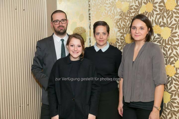 Flavio Marchetti (Produktion), Sophie Stockinger (Schauspielerin), Katharina Mückstein (Regisseurin), Natalie Schwager (Schnitt)
