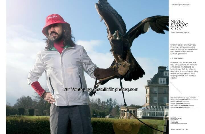 Modestrecke in Perfect Eagle