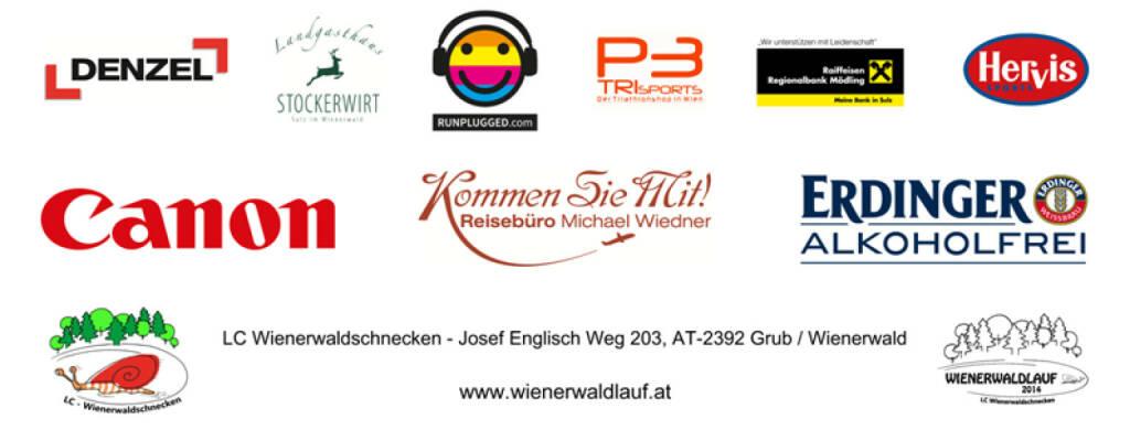 Runplugged unter den Sponsorpartnern bei http://www.wienerwaldlauf.at 2014 (31.03.2014)