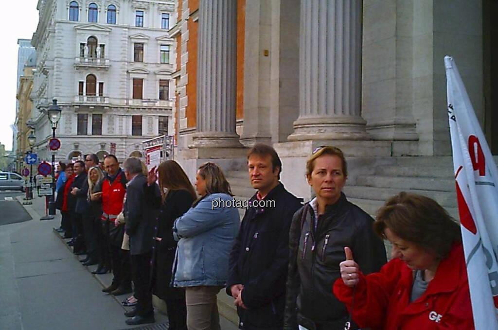 Alte Wiener Börse BankerInnenkette (31.03.2014)