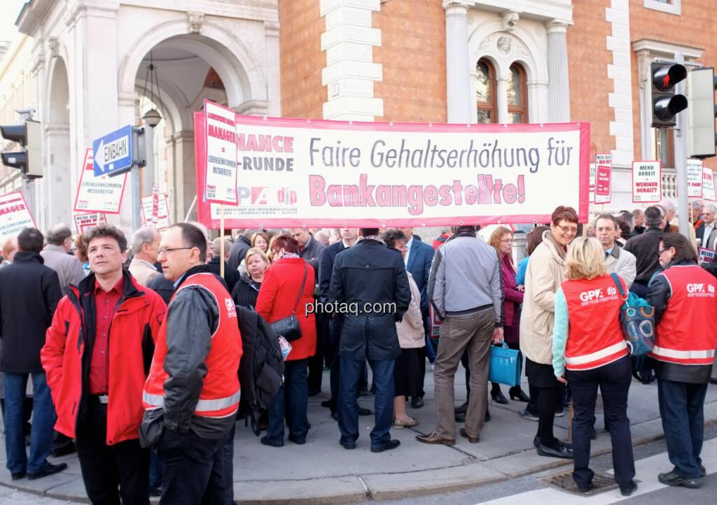 Transparent Faire Gehaltserhöhung für Bankangestellte! (31.03.2014)
