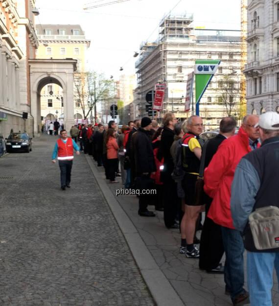 Banker Demo Börsegasse (31.03.2014)
