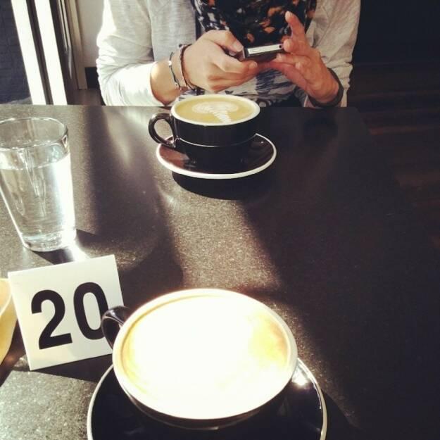Kaffee, © Elisabeth Oberndorfer (31.03.2014)